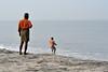 Cast net fisherman (wfung99_2000) Tags: alleppey beach kerala india morning cast net fisherman arabian sea