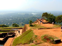 Top of the Rock (° cris ° (searching for testimonials :)) Tags: srilanka asia holidays vacanze vacation lionrock sigiriya view vista landscape paesaggio green grass panorama flickraward