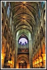 Inside Notre'dame (NNJHA1971) Tags: paris city notredame building historicalbuildings architecture chapel