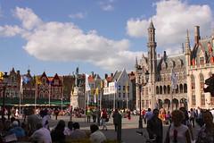 02-Grand-Place de Bruges (robatmac) Tags: belgique bruges grandplace