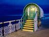 Gypsy Tarot Caravan with yellow steps (Amanda Lane 2020) Tags: gypsy caravan tarot card reading brightonpier fairattraction yellowsteps quaint oldfashioned