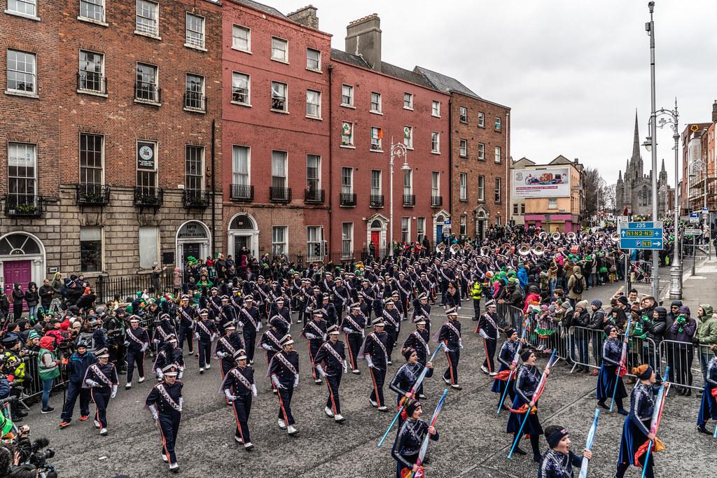 DUBLIN SAINT PATRICKS PARADE 2018 [THE MARCHING ILLINI]-137392