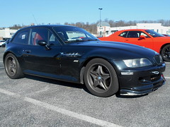 1999 BMW M Coupe (splattergraphics) Tags: 1999 bmw mcoupe m bmwm carshow huntvalleyhorsepower huntvalleytownecentre huntvalleymd