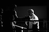 22634 - Mister (Diego Rosato) Tags: mister maestro boxing night boxe boxelatina yelling urlare bianconero blackwhite nikon d700 sigma 70200mm rawtherapee