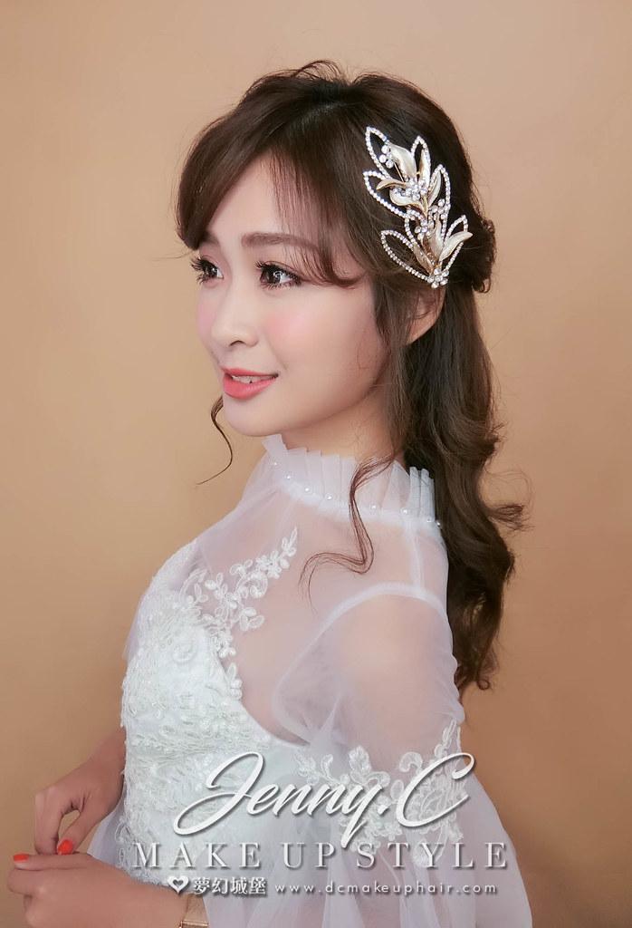 【新秘蓁妮】新娘造型創作 / 女神浪漫風