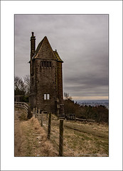 Dovecote Tower, Rivington, Bolton (Pigeon Tower) (prendergasttony) Tags: lancashire winter nikon d7200 stone arch curve road tree tonyprendergast tower cote dove pigeon fench sky