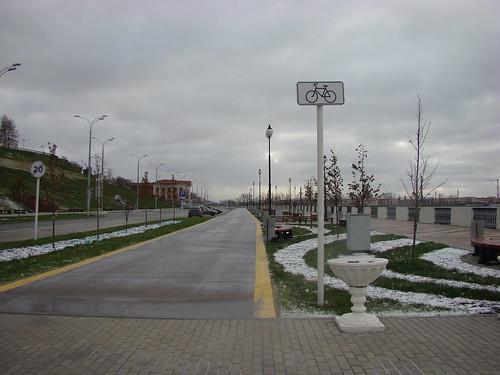 Велодорожка в Ижевске ©  ayampolsky