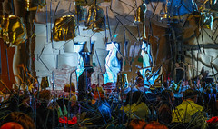 """The mirror crack'd from side to side"" (ettigirbs2012) Tags: orsay lecampana miroir mirror reflets reflections restaurant muséedorsay cof018dmnq cof018hole cof018mari cof018ally"