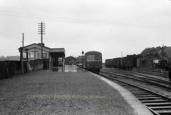 Bantry ,possibly railcar 2613 again ca1956 img289 (Ernies Railway Archive) Tags: bantrystation corkbandonsouthcoastrailway cbscr gsr cie ir ie