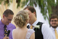 (Kelvin Thoulouis Photography) Tags: groom bride firstkiss