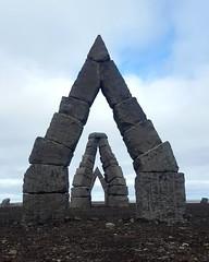 Heimskautsgerdid, a contemporary Arctic Stone Henge