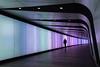 Walk this way (sarah_presh) Tags: kingscross tunnel london england uk lights walkway colours nikond750 person colourful