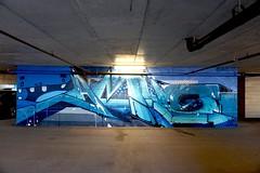 Amuse 126 (drew*in*chicago) Tags: chicago 2018 graffiti street art artist paint painter tag mural garage