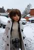 Snowy day (Little little mouse) Tags: maskcat nerine karenza bjd sd dollfie customfaceup cedarheart canoneos7d miniaturecamera bygillknit
