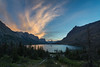 Above the Wild Goose (JeffMoreau) Tags: sunset wild goose island lake glacier national park sony a7ii zeiss 16mm landscape colorful vibrant spring
