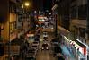 """""""灣仔夜色 wanchai night colours"""" (hugo poon - one day in my life) Tags: xt20 35mm hongkong wanchai jafferoad citynight lights colours sign taxi cafe restaurant eating nightlife vanishing 60s architecture city 夜色"""
