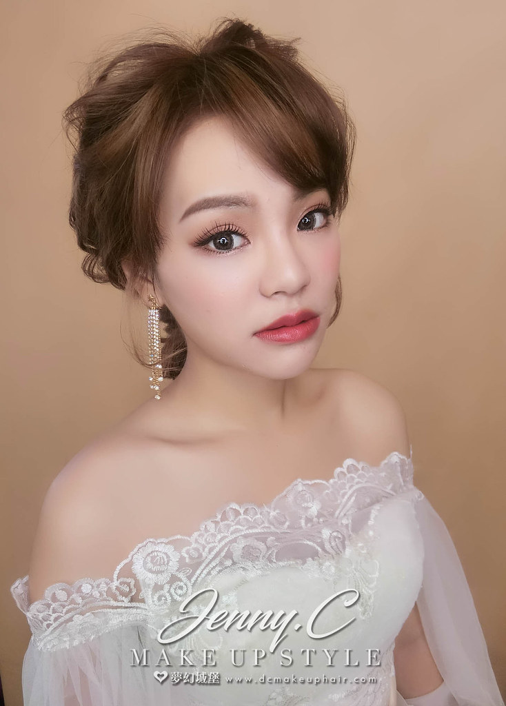 【新秘蓁妮】新娘造型創作 / 韓系女神造型