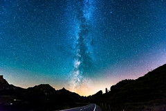 Milky way over the Gurnigel (Thom O.) Tags: ifttt 500px dramatic sky stratosphere solar flare moody landscape long exposure milky way nightscape universe astro stars sunset night nature street