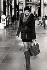 Un peu parisienne (Patrick Scheuch Photography) Tags: model modeling female woman weiblich jeune fille fotoshooting fotoshoot photoshooting photoshoot photosession shooting shoot bnw bw nb sw monochrome brussels brüssel bruxelles belgien belgium belgique europe parisienne passage fashion fashionmodel