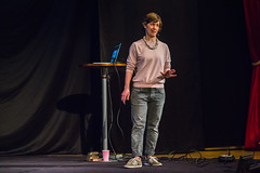 20180323 Creative mornings Gothenburg - Annalena Mayor Ekeblad - Courage (Sina Farhat - Webcoast) Tags: creativemorningsgöteborg creativemorningsgothenburg stendahls konserthuset people folk happy glad stage scene canon1dx canon247028usm nikkor105mm25preai tele courage speaker annalenamayorekeblad talare winter vinter fall gothenburg göteborg sverige sweden 031 raw