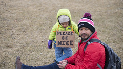 Minnesota March for Our Lives: Please Be Nice (Fibonacci Blue) Tags: stpaul minnesota protest marchforourlives rally march nra demonstration gun event reform dissent outcry shooting outrage twincities nice girl activist activism