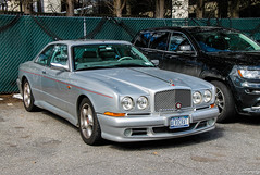 1999 Bentley Continental SC (Rivitography) Tags: aerocrat newyork 1999 bentley continental sc silver grey rare expensive luxury car british greenwich connecticut 2018 canon rebel t3 adobe lightroom rivitography