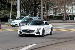 Fab Design Areion (Nico K. Photography) Tags: mercedesbenz amg gts fab design areion supercars rare white nicokphotography switzerland zürich