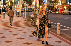tokyo girl (poludziber1) Tags: street streetphotography summer city colorful cityscape color colorfull capital urban travel tokyo japan people