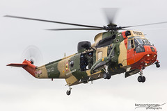 Westland Sea King Mk.48 RS-02 - Belgian Air Component - RIAT 2017 (BenSMontgomery) Tags: westland sea king mk48 rs02 belgian air component riat 2017 royal international tattoo belgium raf fairford helicopter