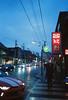 (andresruiz17) Tags: sunset afterdark visuals streets 35mm olympusmju portra800 kodak streetphotography night chinatown toronto