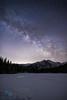 Bear Lake Milky Way (kencphoto) Tags: bearlake rockymountainnationalpark rmnp lake snow stars night astro astrophotography milkyway trees mountains