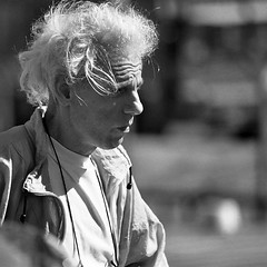 bad hair day (every pixel counts) Tags: 2005 argentina buenosaires street man blackandwhite blackwhite everypixelcounts lacolifata bw