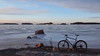 2018 Bike 180: Day 66, March 28 (olmofin) Tags: 2018bike180 finland bicycle polkupyörä mtb 28er ice sea meri jää bredviken