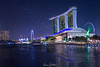 Singapore at Night (leonsidik.com) Tags: leon sidik fujifilm australia landscape long exposure asia marinabay water reflection stars sky 2018