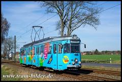 48-2018-04-07-2-Kalkberger Straße (steffenhege) Tags: schöneicherüdersdorferstrasenbahn srs strasenbahn streetcar tram tramway überlandbahn duewag gt6 48