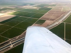 Flying around Bakersfield, CA (- Adam Reeder -) Tags: landscape photo pretty view awesome airplane aviation flying aircraft lift air sky fly plane n5777v musketeer beech beechcraft a2324 super iii baby mouse pilot license california ga generalaviation fixed gear constant speed asel fun adam reeder