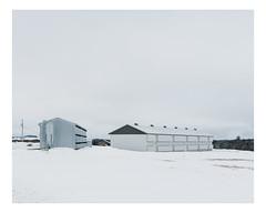 saint-bernard (Mériol Lehmann) Tags: landscape beauce silo canada winter barn farm rural quebec farmstead snow saintelzéar québec ca