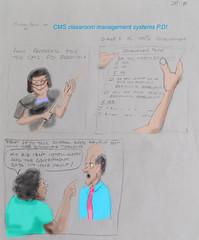 CMS training! (Robin Hutton) Tags: classroom management systems training education robinhuttonart