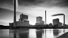 Grosskraftwerk Mannheim BW.jpg (Knipser31405) Tags: 2018 mannheim bw rhein orte frühjahr langzeitbelichtung kraftwerk