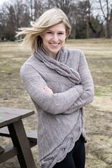 Sweater weather (mgstanton) Tags: whitepark portrait sweater knit handknit wind