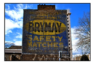 GHOST SIGN FOR BRYMAY MATCHES