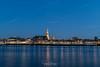 Nijmegen vanuit iLent - Blue hour (Henk Verheyen) Tags: lent nl nederland netherlands nijmegen waal buiten ilent outdoor rivier stad stadsgezicht water gelderland blue hour blauwe uurtje river lucht sky