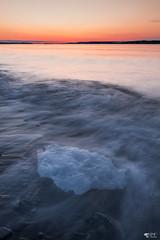 ''Ice!'' Neuville (pascaleforest) Tags: paysage landscape passion nikon nature sigma sunrise levédusolei sun soleil fleuve eau water sky ciel spring printemps ice galce vague wave canada québec