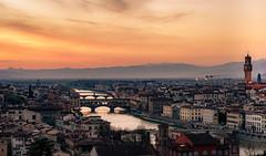 Florentine Sunset (mcalma68) Tags: florence sunset skyline city italy