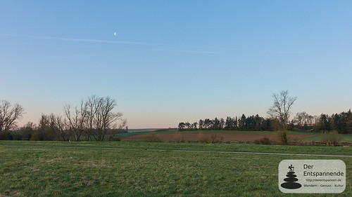 Mond über Zornheim