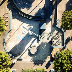 Entre formas e sombras. (Eber Paz) Tags: ba bahia djispark drone eberpaz praça salvador ssa place square urbanplace ©eberpaz brasil