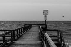 Nicht springen... (michael_hamburg69) Tags: heiligenhafen germany deutschland kreisostholstein schleswigholstein wagrien ostsee balticsea seebrücke pier wood wooden holz unterwegsmitandy steinwarder