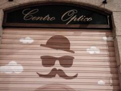 0105 centro optico granada (bonez007) Tags: granada spain moustache shop opticians centrooptico optician optico farmacia sunglasses hat alhambra