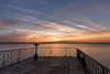River Mersey Sunrise (Rob Pitt) Tags: river mersey sunrise longexposure 750d nd1000 tokina 1116 wirral clouds railings