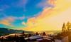 ♥️ My village (evakongshavn) Tags: morningfog fog mist sun sunnyday goldenscape landscape myview onmywalk landschaft paysage 7dwf